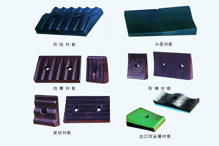 Power plant Wear resistant parts