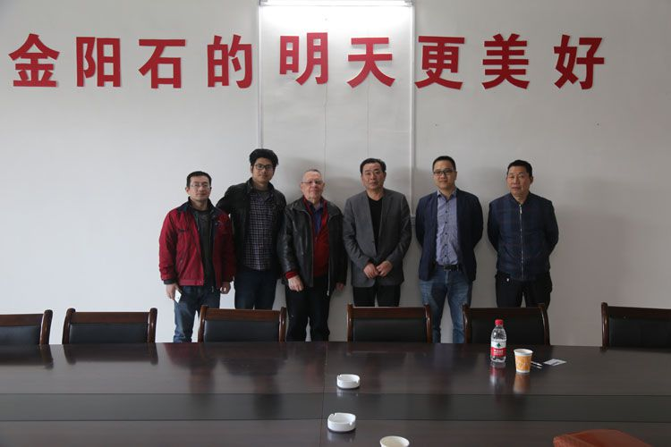 Welcome the Germany customers to the company visits